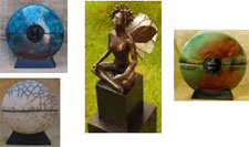Art cremation urns from Alternita