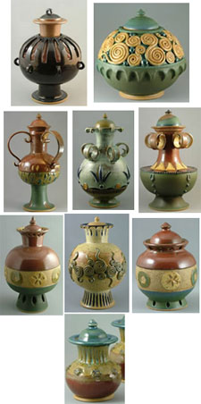 Cremation urns from Art of Urns