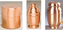 Copper Cremation Urns, Everlasting Memories