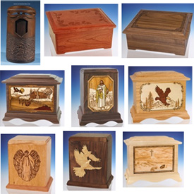 Wood Cremation Urns, Everlasting Memories