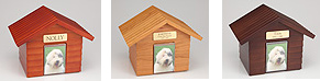 Forever Pets, doghouse style cremation urns