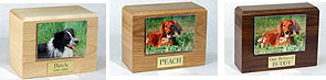 Forever Pets, Horizontal Photo Display, cremation urns