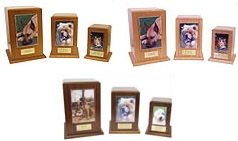 Forever Pets, Vertical Photo Display, cremation urn