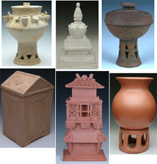 Ethnic cremation urns from Keepsakes and Memorials