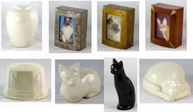 Pet Memories, cremation and plastic urns
