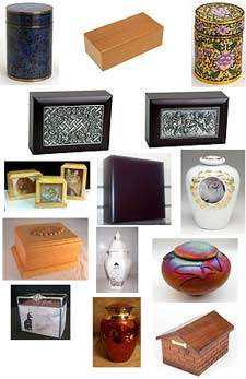 Pet cremation urns from Pet Urn Shop