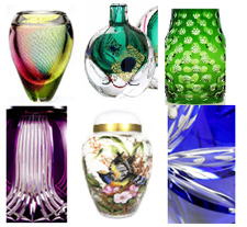 Prague Imports, Glass Urns