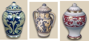 Ceramic Cremation Urns, Prima Urns and Memorials