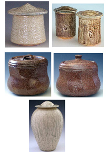 Robert Compton Pottery, cremation urns