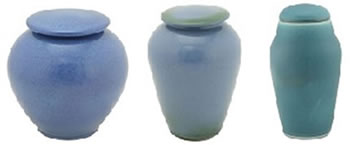 Ceramic Cremation Urns from Stardust Memorials