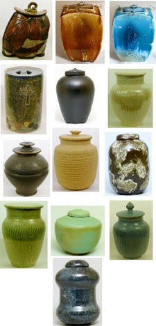The Pottery Store, cremation urns