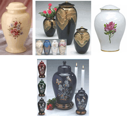 The Urn Store, ceramic cremation urns