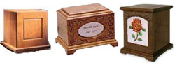 Wood Cremation Urns, Urn Company