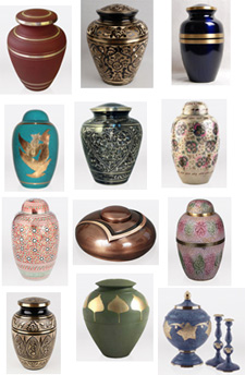 Brass Cremation Urns, Urn Shopper