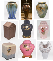Ceramic Cremation Urns, Urn Shopper