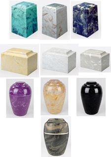 Cultured Marble Cremation Urns, Urn Shopper