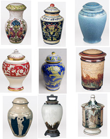 Porcelain Cremation Urns, Urn Shopper
