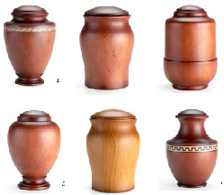 Urns 4T, urns collection d, cremation urns