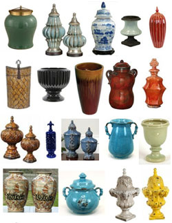 Ceramic cremation urns from Urns.Org