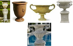 French cremation urns from Urns.Org