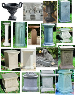 Iron cremation urns from Urns.Org