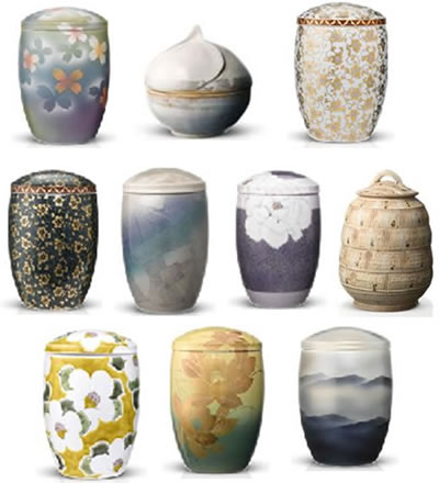 Ceramic Cremation Urns from Urns in Styles