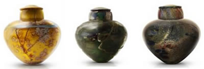 Glass Cremation Urns from Urns in Styles