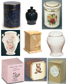 Infant cremation urns from Urns Seller