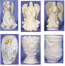 Your Loving Memorial, angel cremation urns