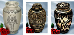 Your Loving Memorial, bronze and pewter cremation urns